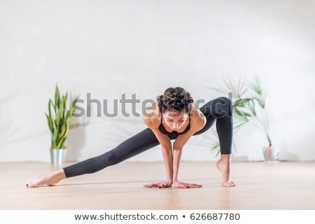 bailarino · mulheres · esportes · fitness · treinamento - foto stock © phbcz