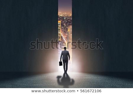 ビジネス 成功 想像力 ビジネスマン 登山 長い ストックフォト © Lightsource