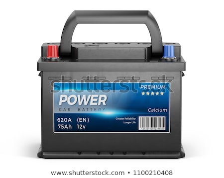 12 Volt Car Battery Stock photo © Bigalbaloo