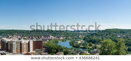 Virginie-Occidentale Université salle centre-ville bâtiments campus Photo stock © backyardproductions
