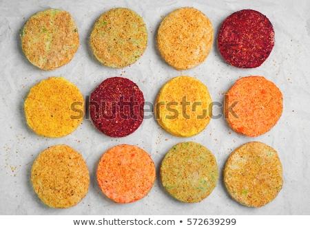 Raw vegetable patties Stock photo © Digifoodstock