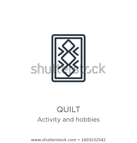 handmade hobby activities vector flat thin line icons stock photo © vectorikart