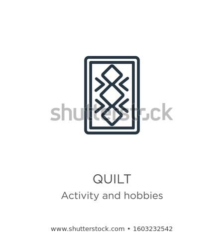 ハンドメイド 趣味 活動 ベクトル 薄い 行 ストックフォト © vectorikart
