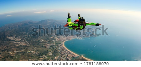 a man skydiving stock photo © bluering