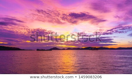 закат время мнение точки морской пейзаж морем Сток-фото © bank215