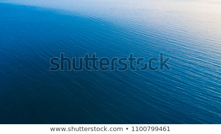 Aerial view of vast water surface, blue lake or sea Stock photo © stevanovicigor