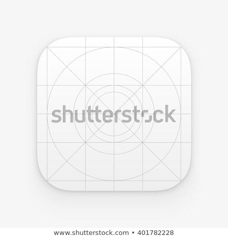 アプリケーション · アイコン · テンプレート · ウェブ · 携帯 · ベクトル - ストックフォト © Said