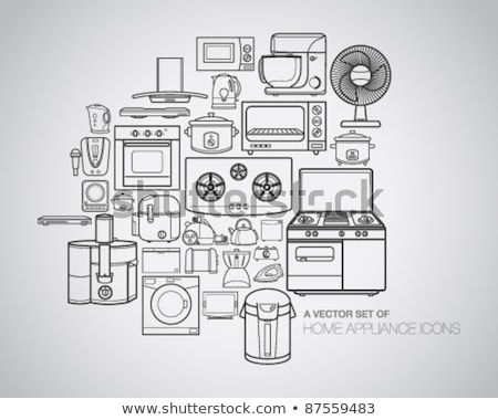 Washing machine vector illustration clip-art image Stock photo © vectorworks51