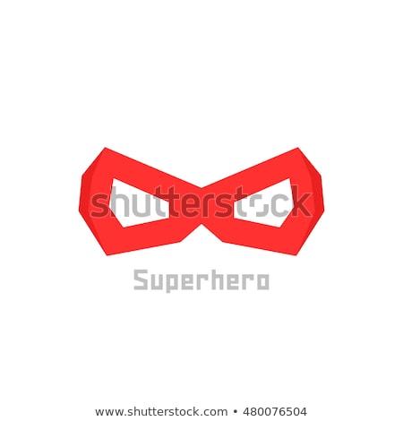 Foto stock: Cabeza · máscara · héroe · logo · estilo · icono