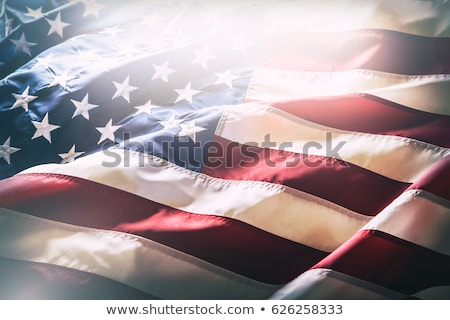 star with american flag background Stock photo © SArts