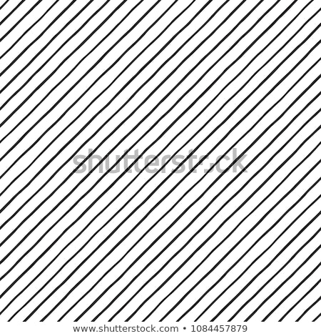 Diagonal lines seamless black and white pattern. Repeat straight monochrome stripes texture backgrou Stock photo © pashabo