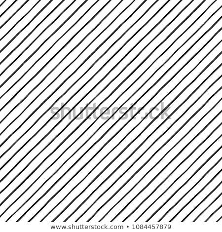 diyagonal · hatları · siyah · beyaz · model · tekrar - stok fotoğraf © pashabo