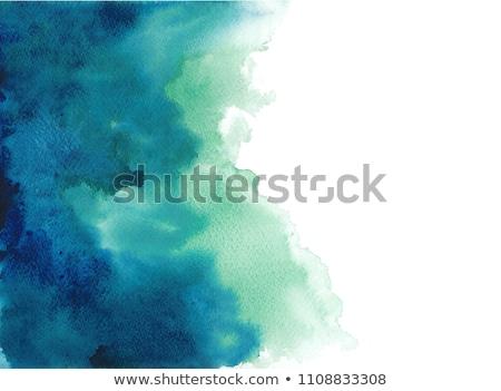 аннотация акварель Гранж пятно текста пространстве Сток-фото © SArts