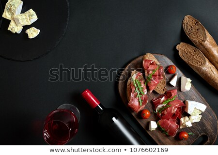 French Restaurant Alcohols And Beverage Background Stock photo © benchart