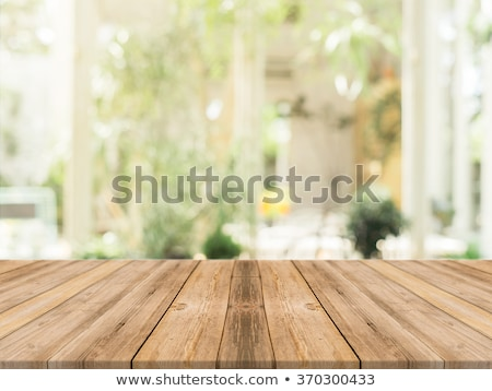 abstract blur of home kitchen stock photo © artjazz