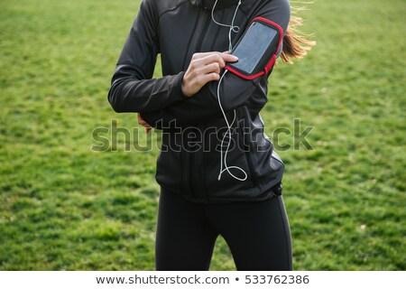 Фитнес-женщины · красивой · фитнес · азиатских · женщину - Сток-фото © deandrobot