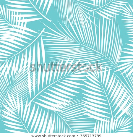 Vetor palmeiras colorido ícones papel Foto stock © blumer1979