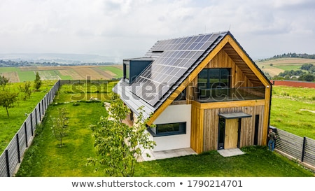 eco house stock photo © psychoshadow