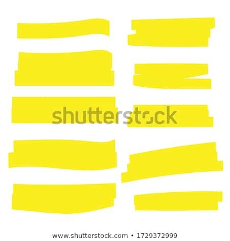 蛍光ペン 計画 赤 文書 職場 ビジネス ストックフォト © pressmaster