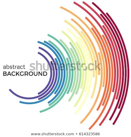 ярко · красочный · современных · полосатый · аннотация · вектора - Сток-фото © romvo