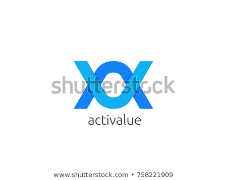 Resumen carta logo icono plantilla infinito Foto stock © taufik_al_amin