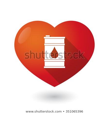 symbool · hart · olie · liefde · internet · bouw - stockfoto © popaukropa