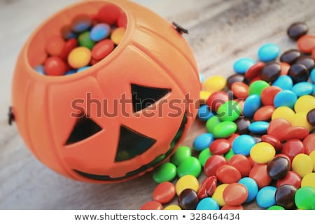 Candies and Chocolates Halloween Treats Stock photo © toffees