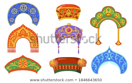 Rosja zestaw zimą hat ogórek Zdjęcia stock © robuart