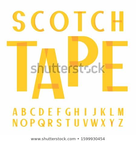fonte · fita · romano · alfabeto · livro · arte - foto stock © ecelop