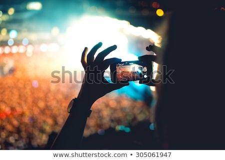 portré · férfi · elvesz · kép · mobiltelefon · üzlet - stock fotó © dolgachov