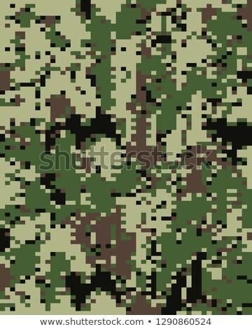 Cyfrowe modny kamuflaż wzór wojskowych wydruku Zdjęcia stock © ratkom