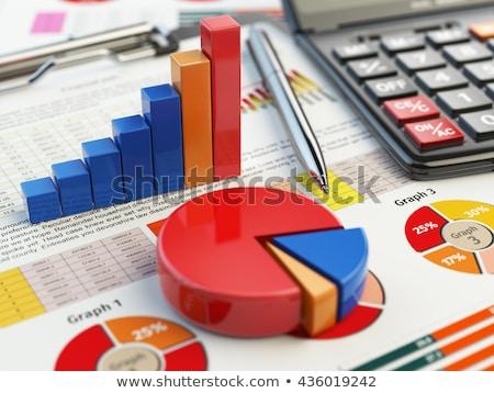 3D · налоговых · доход · 3d · визуализации - Сток-фото © nasirkhan
