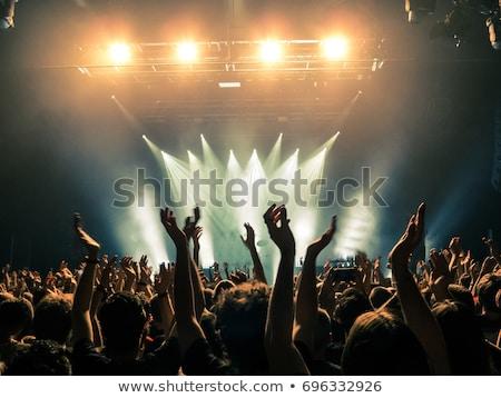 концерта музыку зале толпа плакат вечеринка Сток-фото © alexaldo