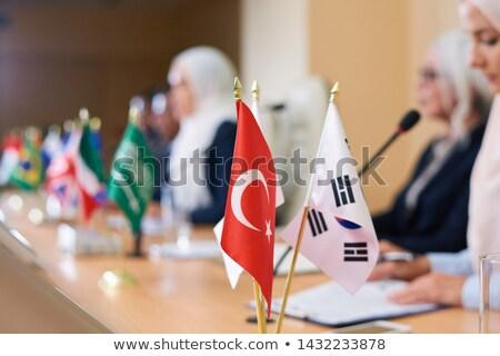 トルコ語 フラグ 2 もっと その他 外国の ストックフォト © pressmaster