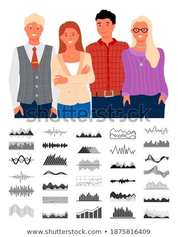 Infocharts, Visualized Information Representation Stock photo © robuart