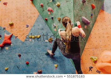Attrattivo giovani professionali sport donna formazione Foto d'archivio © galitskaya