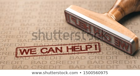 Bad Credit Fix. Debt Solutions Concept. Stock photo © olivier_le_moal