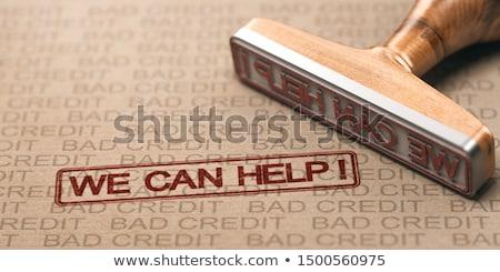 スタンプ · 専門家 · 意見 · 赤 · 文字 · 白 - ストックフォト © olivier_le_moal