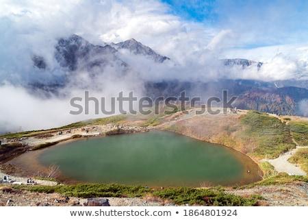秋 · 谷 · 氷河 · 公園 - ストックフォト © vichie81