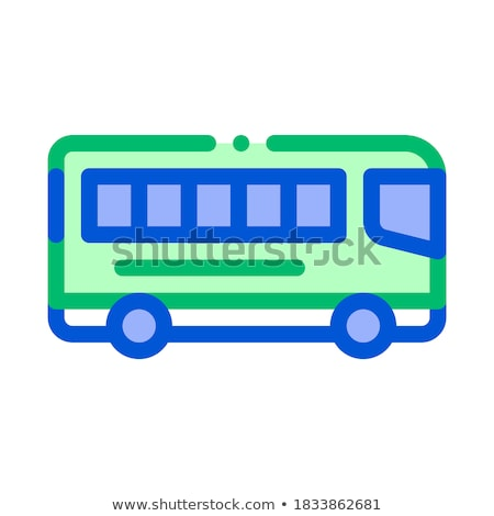 Public Transport Inter-city Bus Vector Sign Icon Stock photo © pikepicture