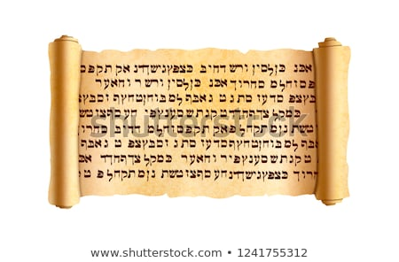 öreg mintázott széles papirusz tekercs ősi Stock fotó © evgeny89