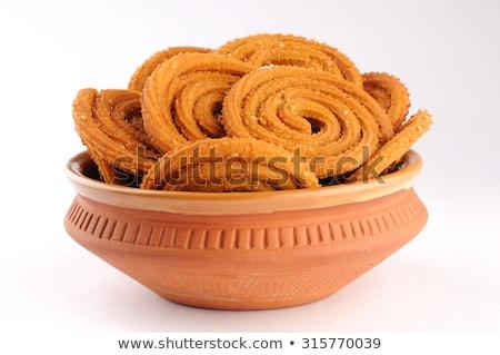 traditional indian snack muruku stock photo © zkruger