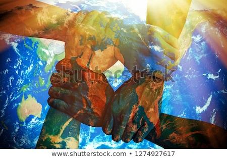 global warming 4 Stock photo © morrbyte