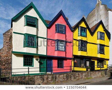 Bristol in the 17th century Stock photo © Stocksnapper