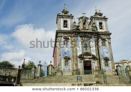 santo idelfonso church in porto portugal Stock photo © travelphotography