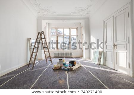 Lege kamer muren werknemers tools Stockfoto © Amaviael