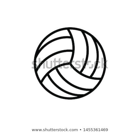 volleyball symbol vector illustration  u00a9 pankaj kumar  pkdinkar    1508878
