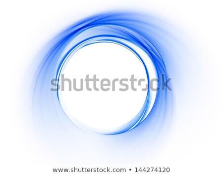 lineair · Blauw · dynamisch · beweging · abstract · illustratie - stockfoto © artida