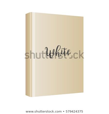 бумаги книгах угол мнение белый Сток-фото © luapvision