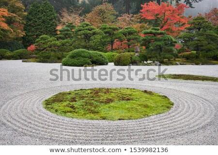 Японский · традиционный · саду · Киото · Япония - Сток-фото © smithore